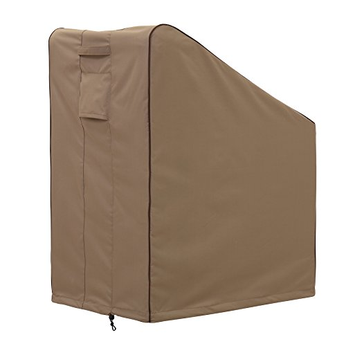 Finnhomy Outdoor Patio Chair Cover High Back Waterproof Large Outdoor Furniture Cover Weather/Fade Resistant, 36'' L X 28'' D X 45'' H by Finnhomy (Image #4)