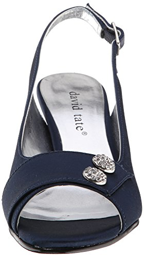 Satin David Party Navy Women's Tate aP1PpOq