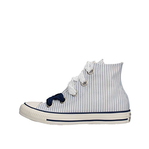 Sneakers Eyelet Bianco Ctas Hi Converse 560995C Celeste Bianco Big dtXHFnq