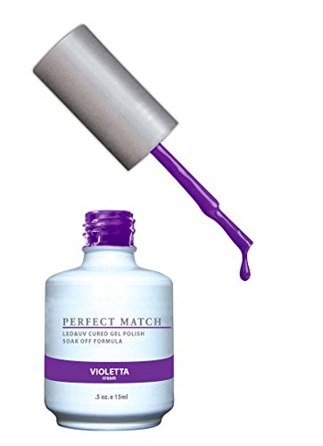 LECHAT Perfect Match Nail Polish, Violetta, 0.500 Ounce