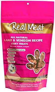 Real Meat Dog Treats, Lamb Venison