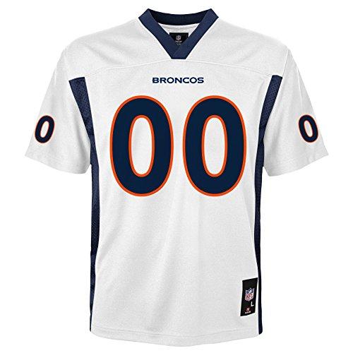 - NFL Denver Broncos Kids & Youth Boys Fashion Jersey White, Kids Medium(5-6)