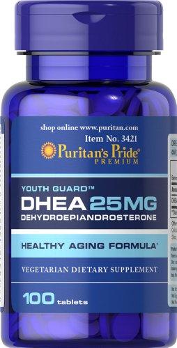 В пуританской гордость DHEA таблетки 25 мг-100