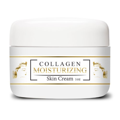 Best Anti Aging Vitamin C Creams with Super Fine Natural Hydrolized Collagen Types 1 & 3 - Moisturizers for Men...