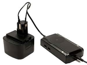 Panasonic EY9201 Battery + Charger - Replacement Panasonic 12V Battery and Charger (3500mAh, NI-MH)