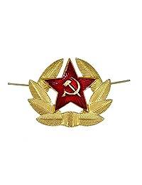 Russian Soviet Red Army Star Hat Pin Badge USSR KOKARDA [Misc.]
