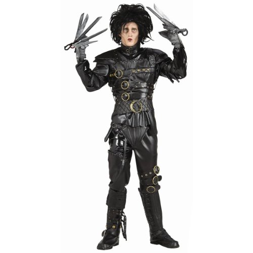 Rubie's Edward Scissorhands Grand Heritage Adult Costume, Standard | 56212
