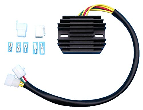 (Tuzliufi Replace Voltage Regulator Rectifier Suzuki VX800 VZ800 VX VZ 800 Marauder 800cc 32800-45C00 32800-45C01 1990 1991 1992 1993 1997 1998 1999 2000 2001 2002 2003 2004 New Z236)