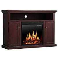 JAMFLY 55 inch Fireplace Electric Mantel...