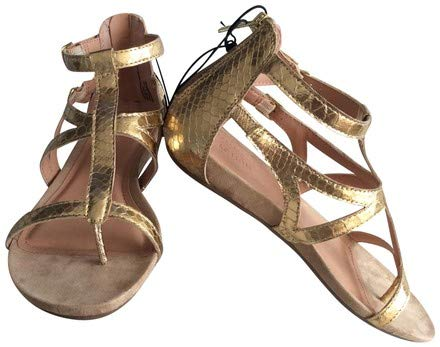 60e7af105b7f Image Unavailable. Image not available for. Color  Kenneth Cole Reaction  Gladiator Sandals Light Gold Size 8