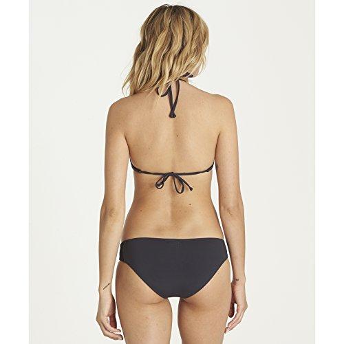 Billabong Women's Sol Searcher Lowrider Bikini Bottom, Black Sands, M