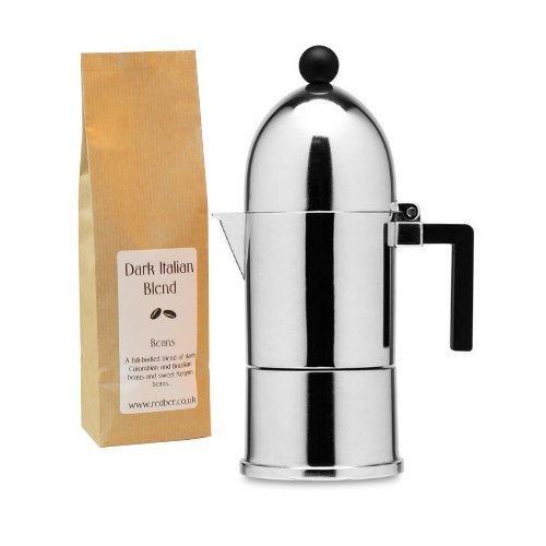 Alessi La Cupola Aldo Rossi - Cafetera de espresso (1 taza ...