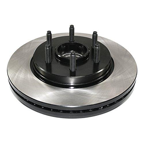 DuraGo BR5410702 Front Vented Disc Premium Electrophoretic Brake Rotor by DuraGo