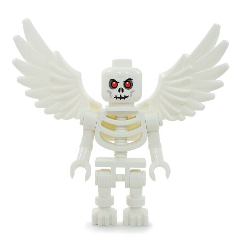 Lego Skeleton with Wings - LEGO Halloween Castle Kingdoms Minifigure]()