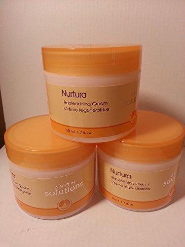 Avon Solutions (Avon Solutions Nurtura Replenishing Cream (Pack of 3))