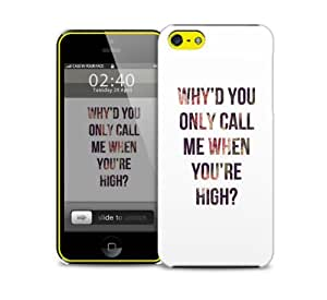 call me when your high iPhone 5c protective phone case