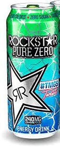 Rockstar Pure Zero #TMGS Twist, 16 fl.oz. (Pack of 8) (Energy Rockstar Drink Pink)