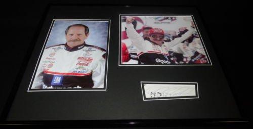 Dale Earnhardt Sr Signed Framed 16x20 Photo Set ()