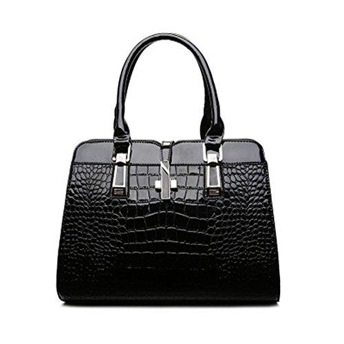 Dama Negro Meaeo Package Moda Señoras Xiekua Bolso Bolso Nueva Match Black Todos Bolsa SZWSfq