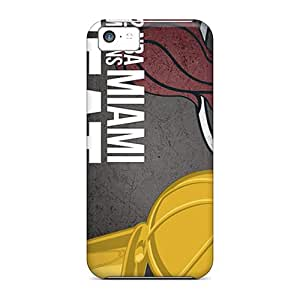 Shock-Absorbing Hard Phone Cases For Iphone 5c With Provide Private Custom High Resolution Miami Heat Image SherriFakhry