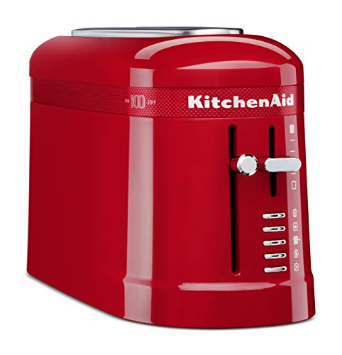 KitchenAid KMT3115QHSD 100 Year Limited Edition Queen of Hearts Toaster, Passion Red