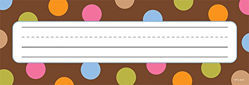 (Creative Teaching Press Dots on Chocolate Name Plates (CS91603))