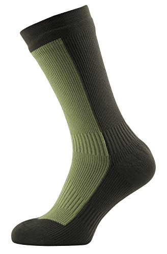 (SEALSKINZ 100% Waterproof Sock - Windproof & Breathable - Mid Length Sock, Suitable for Walking, Camping, Hiking in Cold Conditions)