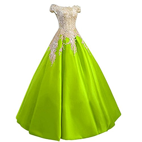 Meilishuo Women's Off the Shoulder Applqiue Quinceanera B...