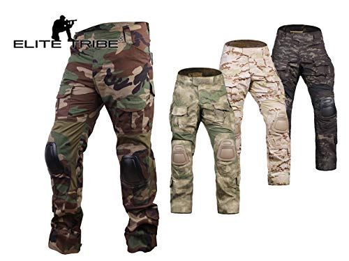 multicam pants knee pads - 4