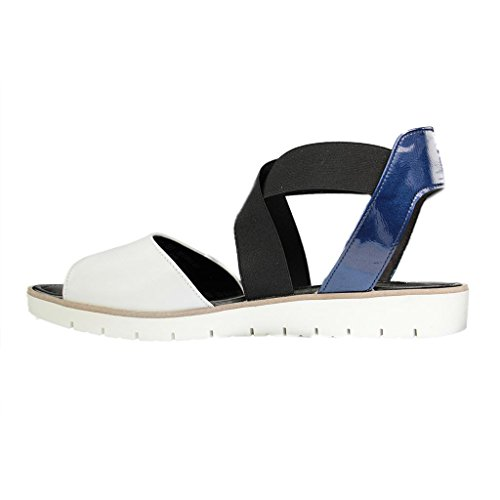 Gabor 65.572.21, Sandales pour femme WEISS/MARE Weiß