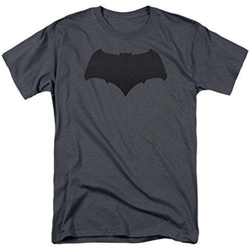 Batman Logo Charcoal T-Shirt Batman V Superman Dawn of Justice