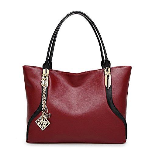 Meaeo Diagonal Shoulder Bag Handbag Large Capacity Black Network