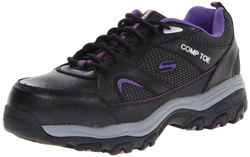 Skechers for Work Women's D'Lite Slip Resistant Steel Toe...