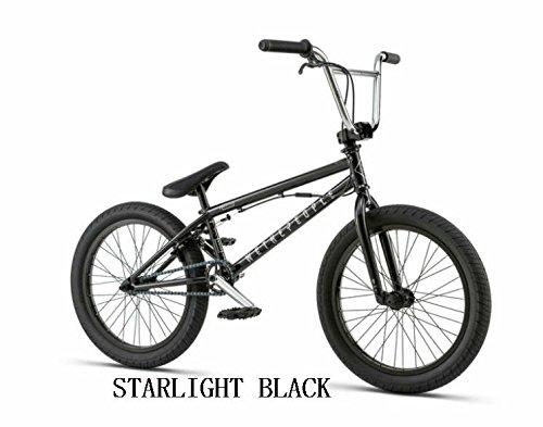 【BMX STREET】【ストリート】【20インチ】WETHEPEOPLE 2018/VERSUS 【CNC ALLOYジャイロ付き】 B0755XRBZKSTARLIGHT BLACK