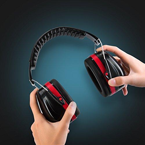 homitt sound ear defenders muffs hearing protection noise. Black Bedroom Furniture Sets. Home Design Ideas