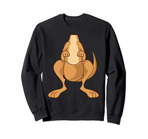 (Funny Kangaroo Costume Shirt - Funny Halloween Easy DIY)