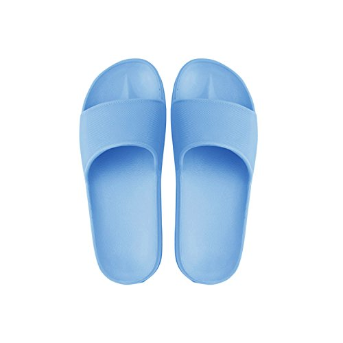 Sandal Couples Anti Unisex Shoes Men House Bathroom Women's Slippers slip Indoor Blue wqXtvx
