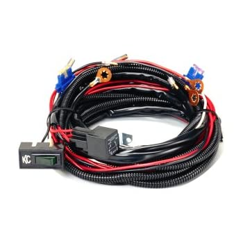 amazon com kc hilites 6310 extended roof mount relay wiring harness rh amazon com Ford Wiring Harness Kits Wiring Harness Diagram
