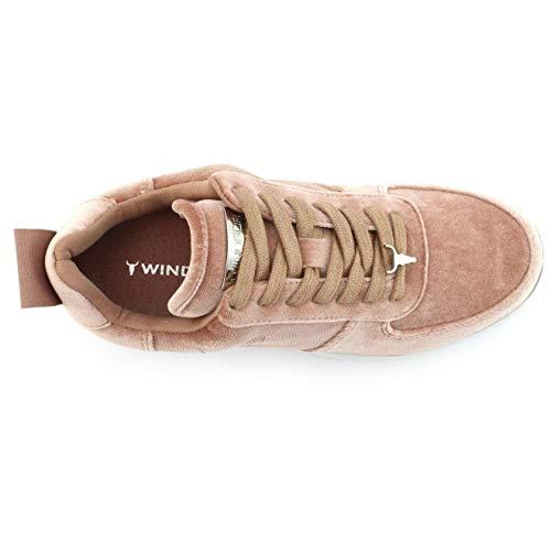 Sneaker Windsor Rosa Donna Racerr Smith 8PnrP7