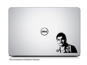A R Rahman Laptop Decal  9.5W X 9.1H  in cm , Black   available at Amazon for Rs.129