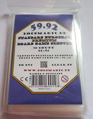docsmagic.de 50 Premium Standard European Board Game Sleeves ...