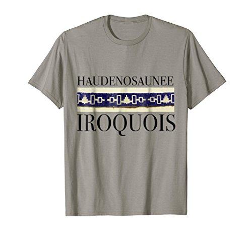 roquois Wampum T-shirt XL Slate ()