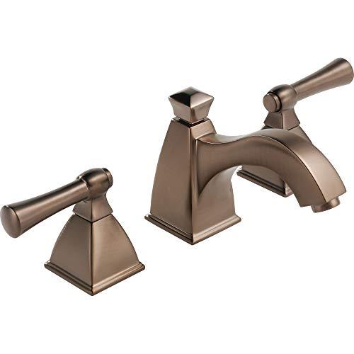 Brizo 65340LF-BZ Vesi Bathroom Faucet Double Handle Widespread with Metal Lever Handles, Brushed Bronze Brilliance