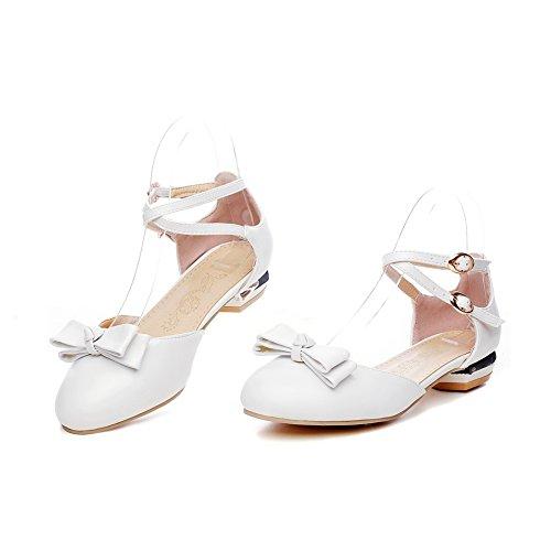 Sandales SLC04229 5 AdeeSu Compensées Blanc Blanc EU 36 Femme 7OxWwx0