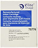 Elite Image Ink Cartridge -Remanufactured for Brother (LC75Y) -Yellow -Inkjet -600 Page -1 Each Each