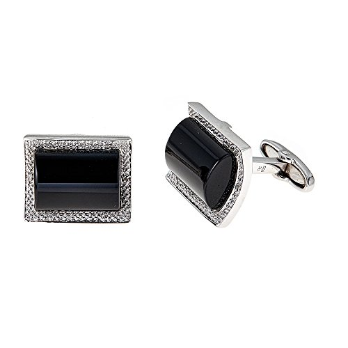 Diamond Onyx Cufflinks - 7