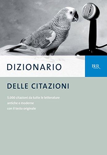 Dizionario Delle Citazioni Italian Edition Kindle