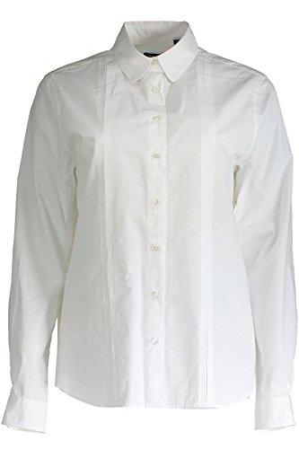 Donna 110 Lunghe Bianco Gant Camicia Maniche 1603 432551 1SHf7