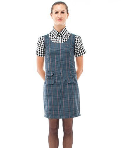 provide large selection of retro complete range of articles Relco Womens Tweed Pinafore Dress 60S MOD Skin Ska Skinbryd
