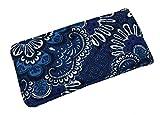 Vera Bradley Sunglass Sleeve (Blue Tapestry)